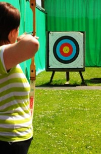 Disabled Holiday archery