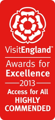 Visit England Awards 2013 Highly Commended