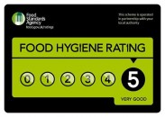 food hygiene 5 star logo