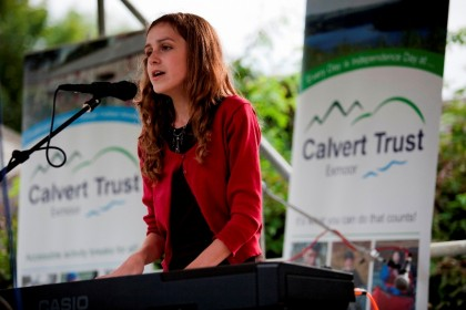 Kiera Osment at CalvertStock 2012