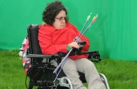 electric Wheelchair Archery